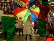 Schäfchen unterm Schirm
