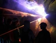 Drachenhöhle Syrau-Lasershow